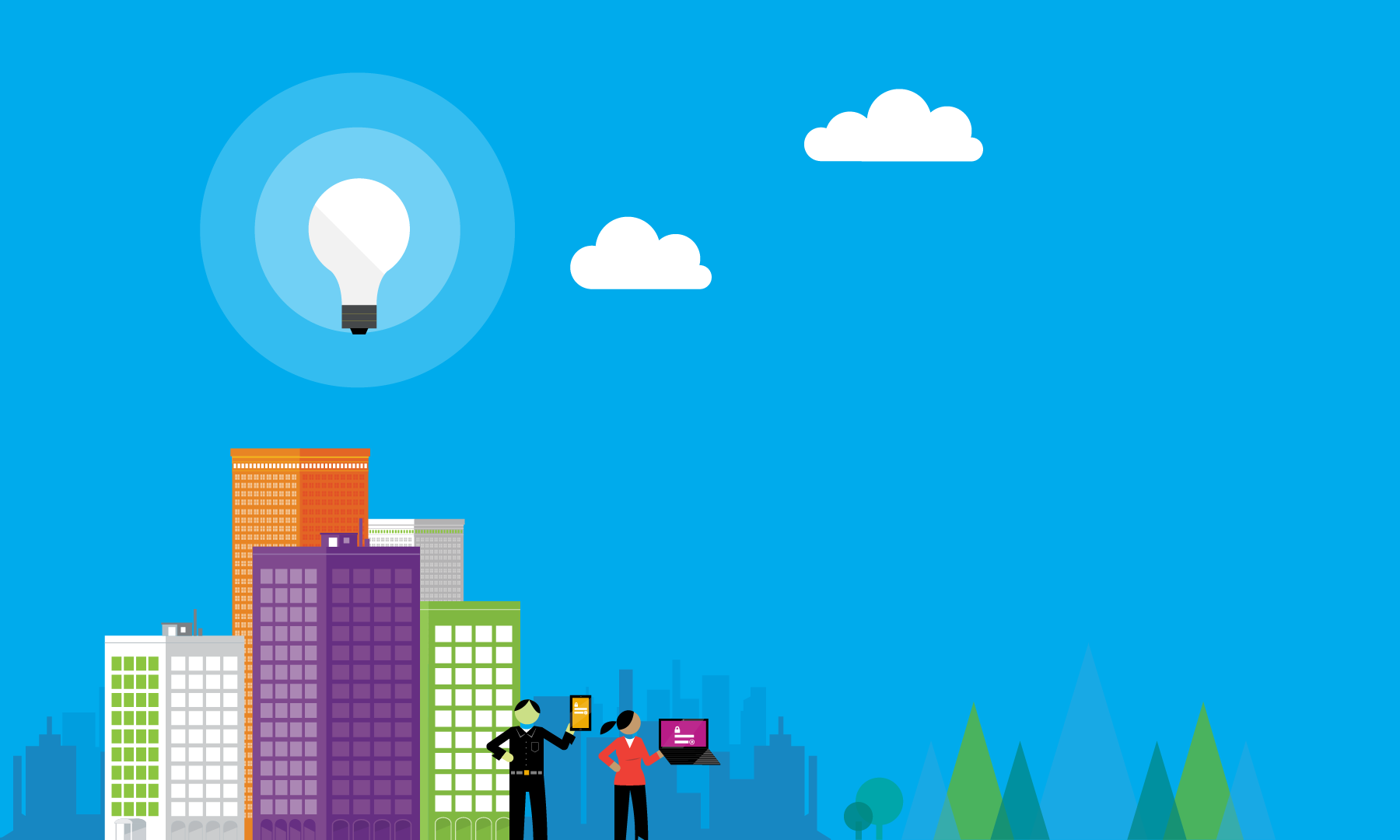 We've partnered with Microsoft as a Cloud Solution Provider